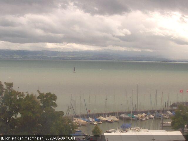 Bodensee webcam aus friedrichshafen mit direktem blick auf for Seehotel immenstaad